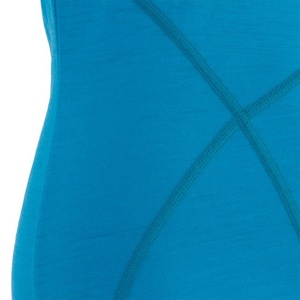 Dámsky nátelník Sensor Merino Wool Active modrá 16100010, Sensor