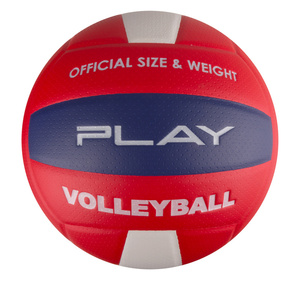 Volejbalový lopta Spokey PLAY II červený veľ. 5, Spokey