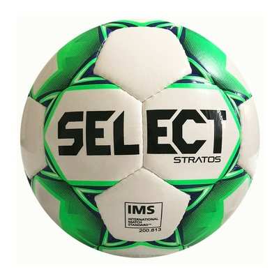Futbalová lopta Select FB Stratos biela zelená, Select