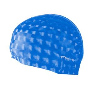 Plavecká čiapka Spokey TORPEDO 3D modrá, Spokey