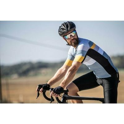 Cyklistické rukavice Rogelli PACE, čierne 006.380, Rogelli