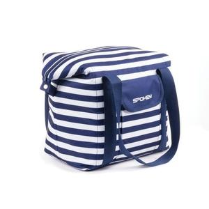 Plážová termo taška Spokey SAN REMO námornícke pruhy, Spokey