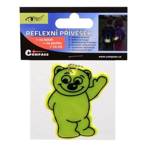 Prívesok reflexná BEAR S.O.R., Safety on Road