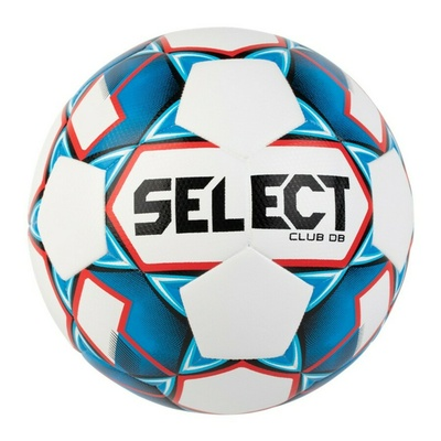 Futbalová lopta Select FB Club DB biela modrá, Select