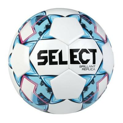Futbalová lopta Select FB Brillant Replica bielo-modrá, Select