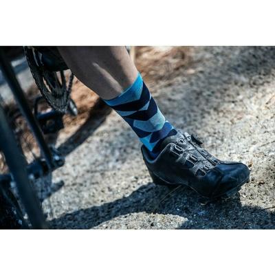 Dizajnové funkčnou ponožky Rogelli SCALE 14, modré 007.154, Rogelli