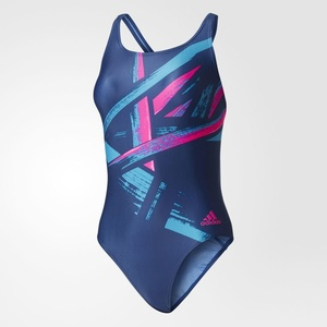 Plavky adidas Graphic Inf One Piece BS0300, adidas
