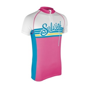 Detský cyklistický dres Silvini Tanaro CD812 blush-sky, Silvini