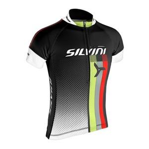 Detský cyklistický dres Silvini TEAM kids CD842K black, Silvini