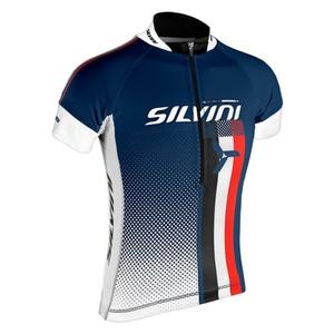 Detský cyklistický dres Silvini TEAM kids CD842K navy, Silvini