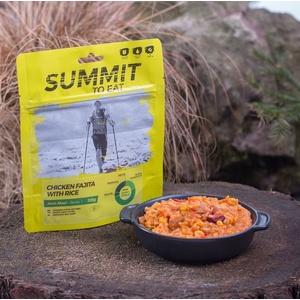 Summit To Eat dusené kurča Fajita s ryžou veľké balenie 802200, Summit To Eat