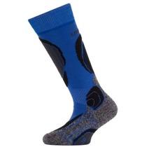 Detské vlnené lyžiarske ponožky Lasting SJB 509 modrá 945b088f47