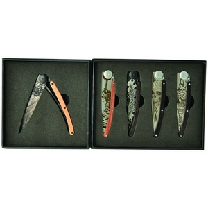 Deejo sada 5 nožov Tatto Biker 37G DEE038, Deejo