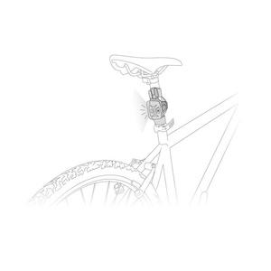 Adaptér Petzl Bike Adapt E000AA00, Petzl