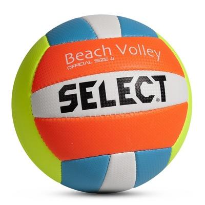 Volejbalový lopta Select VB Beach Volley žlto modrá