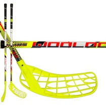 Florbalová palica Wooloc Force 3.2 yellow 96 ROUND NB '16, Wooloc