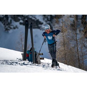 Tričko Direct Alpine Furry long petrol/indigo (miesto), Direct Alpine