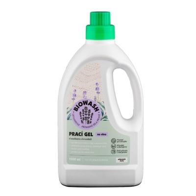 Biowash Gél levanduľa / lanolín na vlnu 1,5 l, Biowash