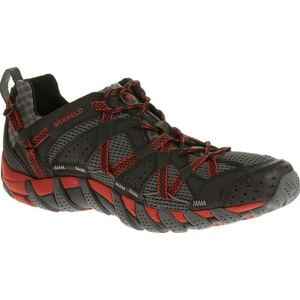 Topánky Merrell WATERPRO MAIPO black / red J65231, Merrell