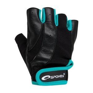 Fitness rukavice Spokey ZOE čierno-zelená, Spokey