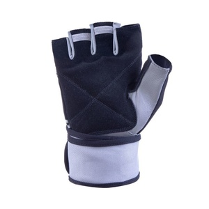 Fitness rukavice Spokey GANT II čierna-biela, Spokey