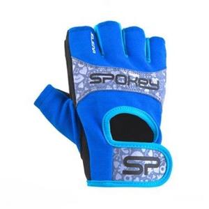 Dámske fitness rukavice Spokey ELENA II modro-tyrkysové, Spokey