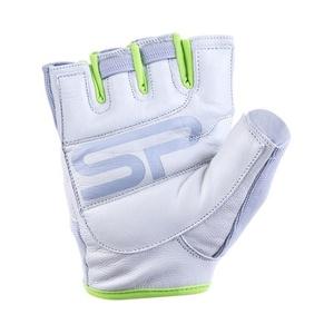 Dámske fitness rukavice Spokey ZOE II bielo-limetkovej, Spokey