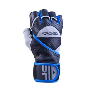 Fitness rukavice Spokey GANTLET II čierno-modré, Spokey