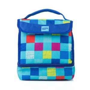 Svačinová termotaška Spokey LUNCH BOX BLUE, Spokey
