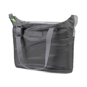 Skladacia taška Spokey HIDDEN LAKE šedá, zelený zips, Spokey