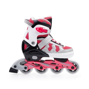 Kolieskové korčule Spokey MADDOX šedo-ružové, Spokey