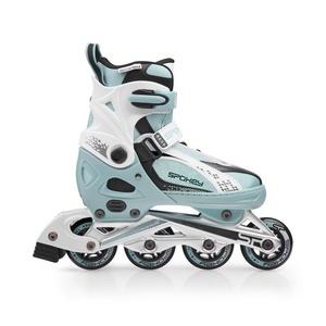 Kolieskové korčule Spokey RENO modro-biele, Spokey