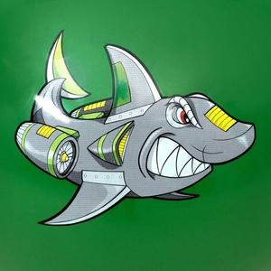 Skákacia lopta Spokey SHARKY 60 cm, Spokey