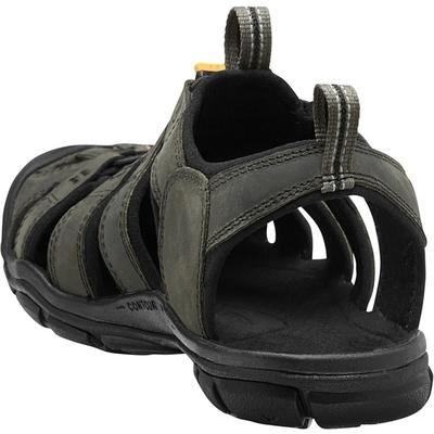 Sandále Keen CLEARWATER CNX Leather Men magnet/čierna, Keen