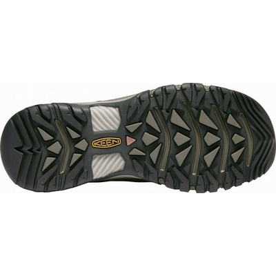 Topánky Keen TARGHEE III WP Muži čierna olivová/zlatá brown, Keen
