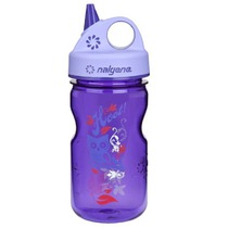 Fľaša Nalgene Grip'n Gulp 350ml 2182-1212 purple hoot, Nalgene