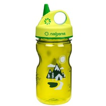 Fľaša Nalgene Grip'n Gulp 350ml 2182-1812 green trail, Nalgene