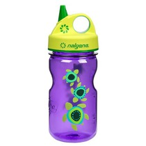 Fľaša Nalgene Grip'n Gulp 350ml 2182-2112 purple sea turtles, Nalgene