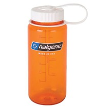 Fľaša Nalgene Wide Mouth 0,5l 2178-1316 orange, Nalgene