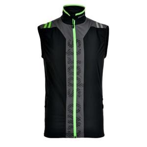 Pánska vesta Silvini MUSONE MJ717 black-green, Silvini