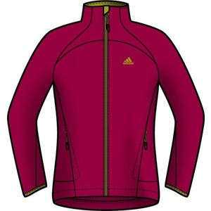 Mikina adidas Hiking 1Side Fleece W O05909, adidas
