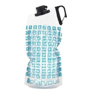 Fľaša Platypus DuoLock SoftBottle Platy Logo 2 l, Platypus