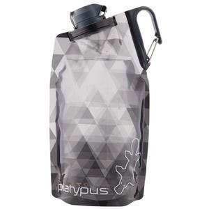 Fľaša Platypus DuoLock SoftBottle Gray Prisms 0,75 l, Platypus