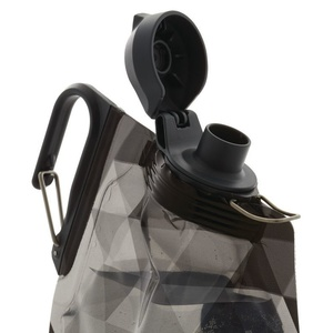 Fľaša Platypus DuoLock SoftBottle Gray Prisms 0,75 l, Platypus