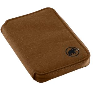 Peňaženka MAMMUT Zips Wallet melange Timber, Mammut