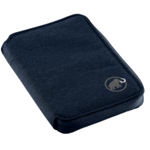 Peňaženka MAMMUT Zips Wallet melange Marine 5118, Mammut