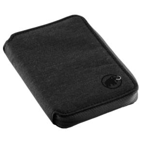 Peňaženka MAMMUT Zips Wallet melange Black 0001, Mammut