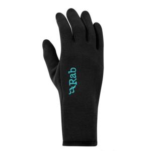 Rukavice Rab Power Stretch Contact Glove Women's black / bl, Rab