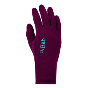 Rukavice Rab Power Stretch Contact Glove Women's berry / by, Rab