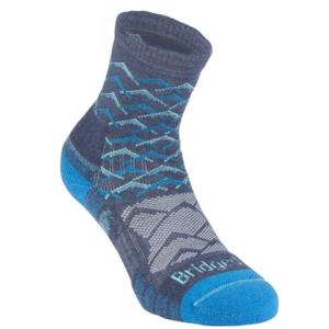 Ponožky Bridgedale Hike Lightweight Merino Performance Ankle Women's denim blue/119, bridgedale